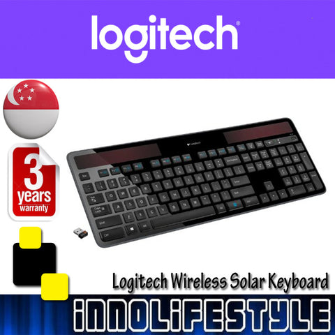 Logitech K750R Wireless Solar Keyboard ★3 Years Warranty★