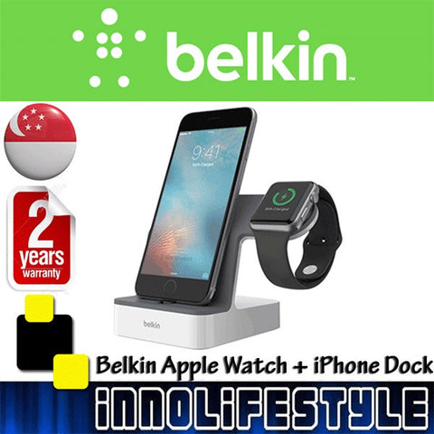 Belkin PowerHouse™ Charge Dock for Apple Watch + iPhone