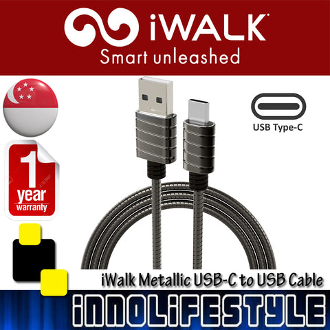 iWalk Metallic USB C to USB Cable - 1M ★1 Year Warranty★