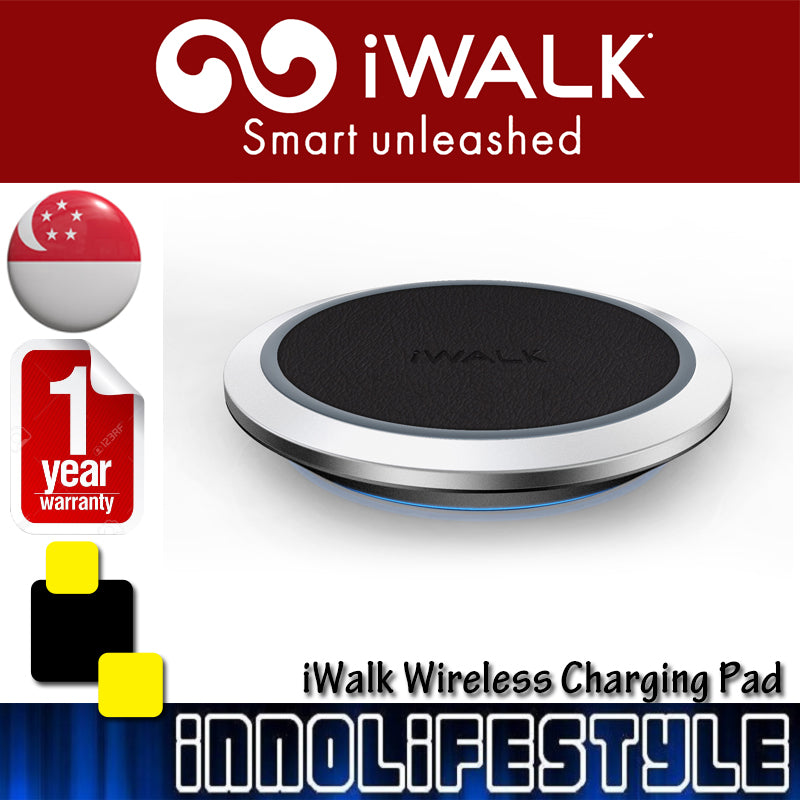 iWalk Wireless Charging Pad For iPhone X, iPhone 8, Galaxy S8 ★1 Year Warranty★