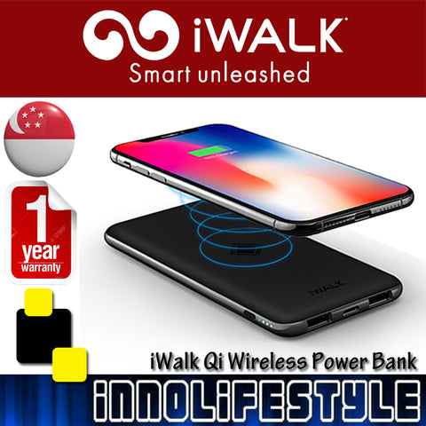 iWalk Qi 8000mAh Wireless Powerbank ★2 Years Local Warranty★