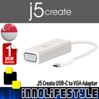 J5 Create JCA111 USB-C to VGA Adaptor ★1 Year Warranty★