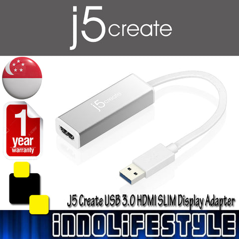 J5 Create JUA355 USB 3.0 HDMI SLIM Display Adapter ★1 Year Warranty★