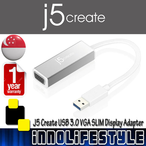 J5 Create JUA315 USB 3.0 VGA SLIM Display Adapter ★1 Year Warranty★