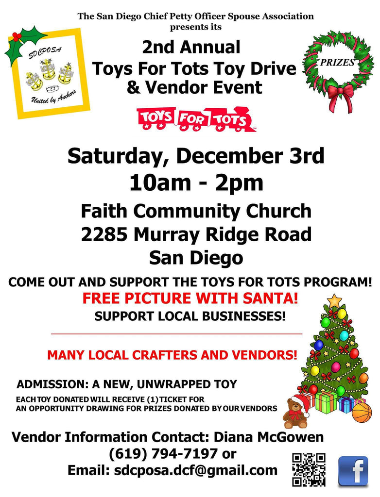 Second Annual Toys for Tots