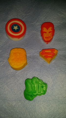 Kid Soaps: Marvel 5