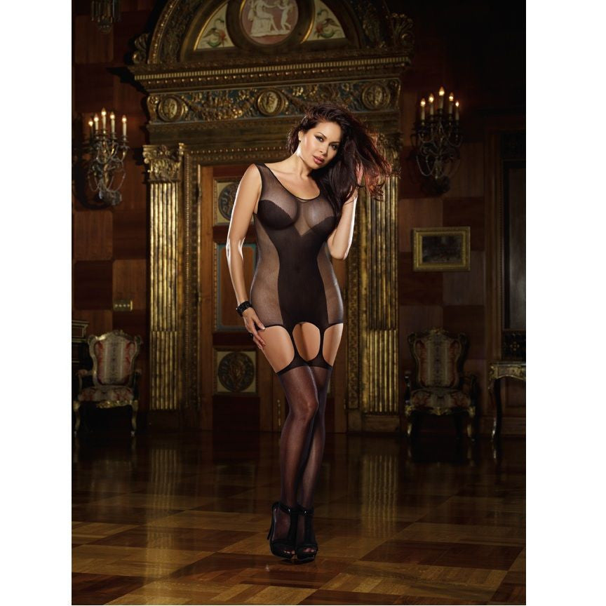 BLACK DIAMOND BODYSTOCKING SAIGON NEGRO TALLA GRANDE