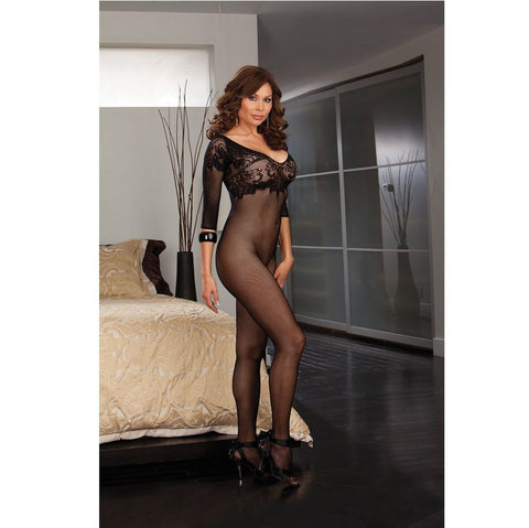 BLACK DIAMOND BUDAPEST BODYSTOCKING NEGRO TALLA GRANDE