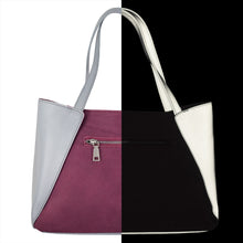 Reflective Tote in Picante