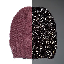 Adult Reflective Knit Hat (Old Mauve)