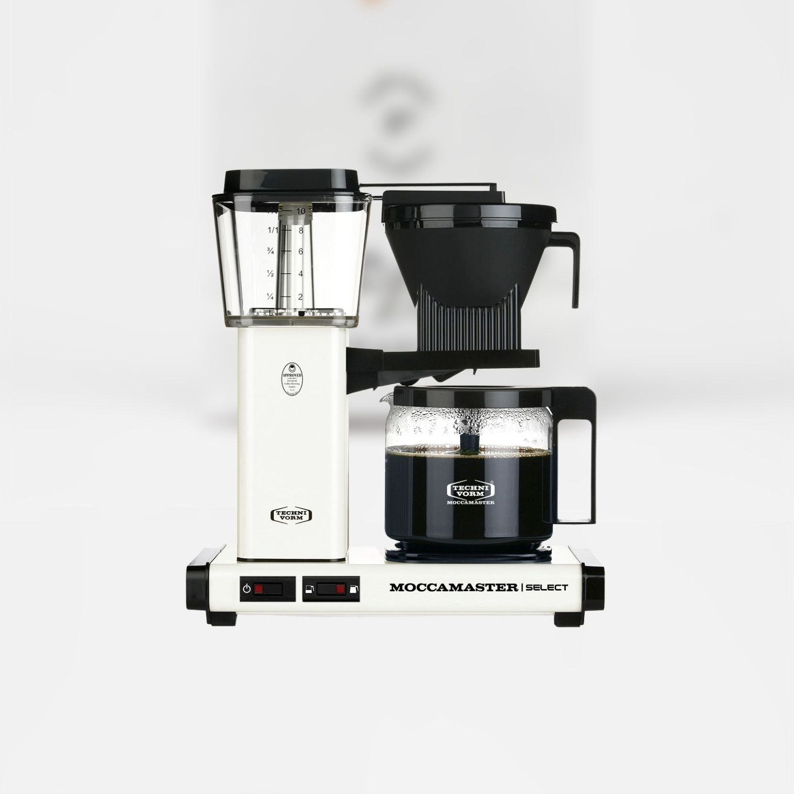 Moccamaster Kaffeemaschine KBG Select Off-White