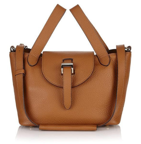 Meli Melo Mini Thela Bag In Tan