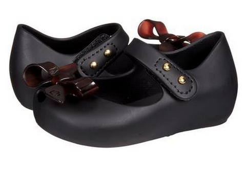 Mini Melissa Mini Ultra Girl Bow-Black