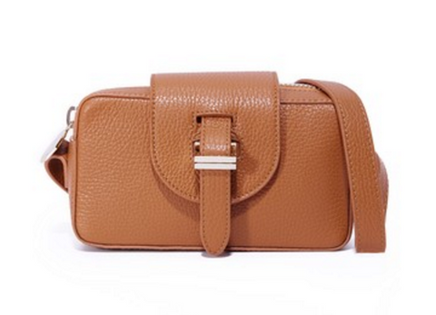 Meli Melo Micro Box Camera Bag- Tan