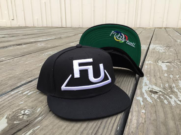 FuBarbell Snap Back Hat in Black