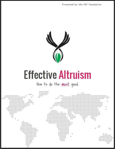 PIF Effective Altruism Whitepaper