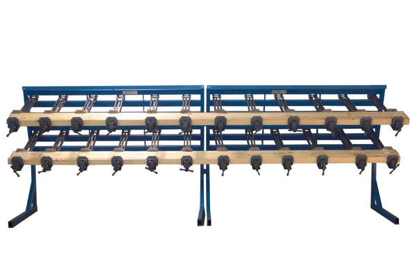 "JLT 16"" Rail & Post Clamping System With 36, 3-1/2"" High Jaw 40"" Clamps"