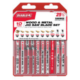 Diablo 10 pc T-Shank Jig Saw Blade Set for Wood & Metal (10-Piece)