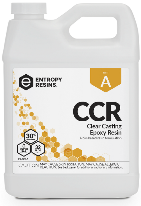 Entropy Resin CCR Clear Casting Resin Kits - Slow Set