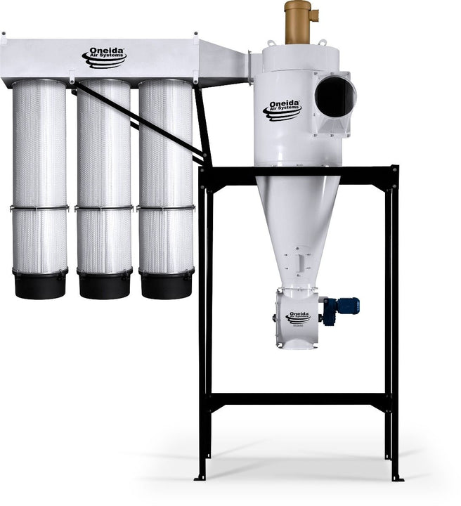 Oneida 10hp Direct Drive Cyclone Dust Collector