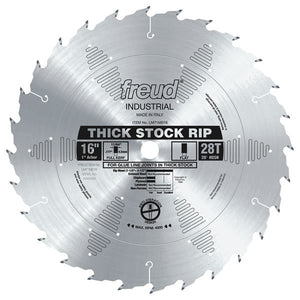 Thick Stock Rip Blade - Freud - OakTree Supplies