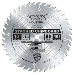 Heavy Duty Stacked Chipboard Blade - Freud - OakTree Supplies