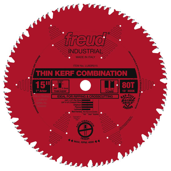 Thin Kerf Combination Blade