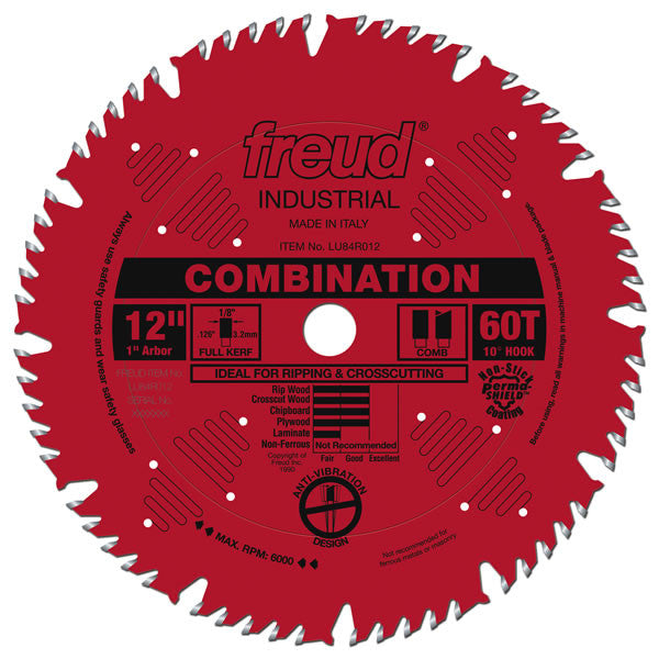 Combination Blade With Permashield Coating
