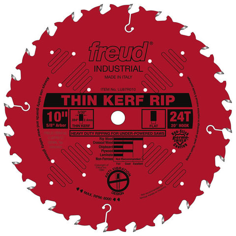Thin Kerf Rip Blade - Freud - OakTree Supplies