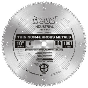 Thin Stock Non-Ferrous Metal Blade - Freud - OakTree Supplies