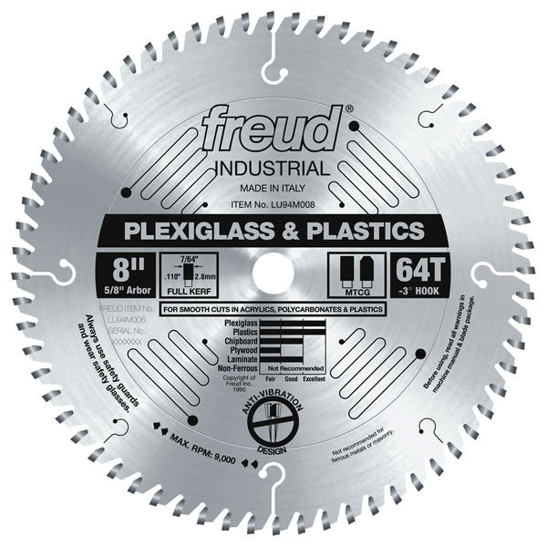 Plastic Blade - Freud - OakTree Supplies