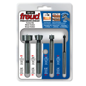 Freud 4-Piece Forstner Bit Set - Freud - OakTree Supplies