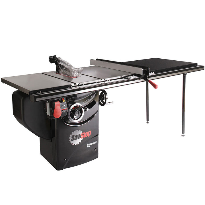 "SawStop Professional Saw 3 HP 52"" Rip Capacity with T-Glide Fence"