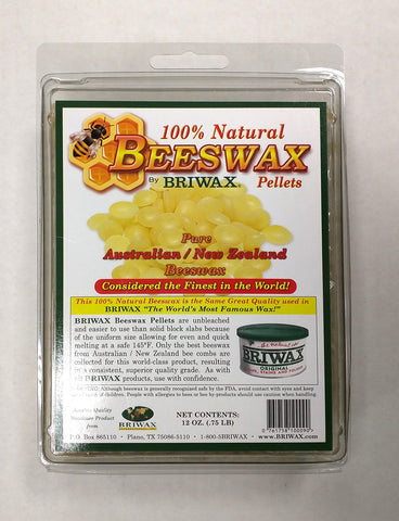 Briwax Beeswax Pellets (12oz) - Briwax - OakTree Supplies