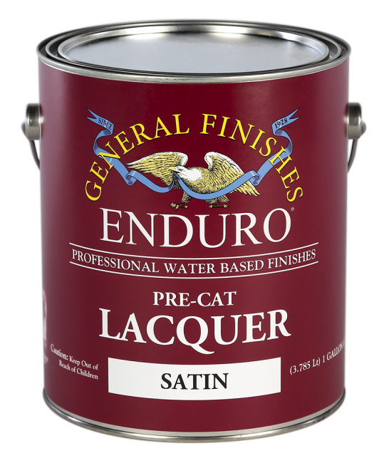 General Finishes Water-Based Pre-Cat Lacquer - Gallon