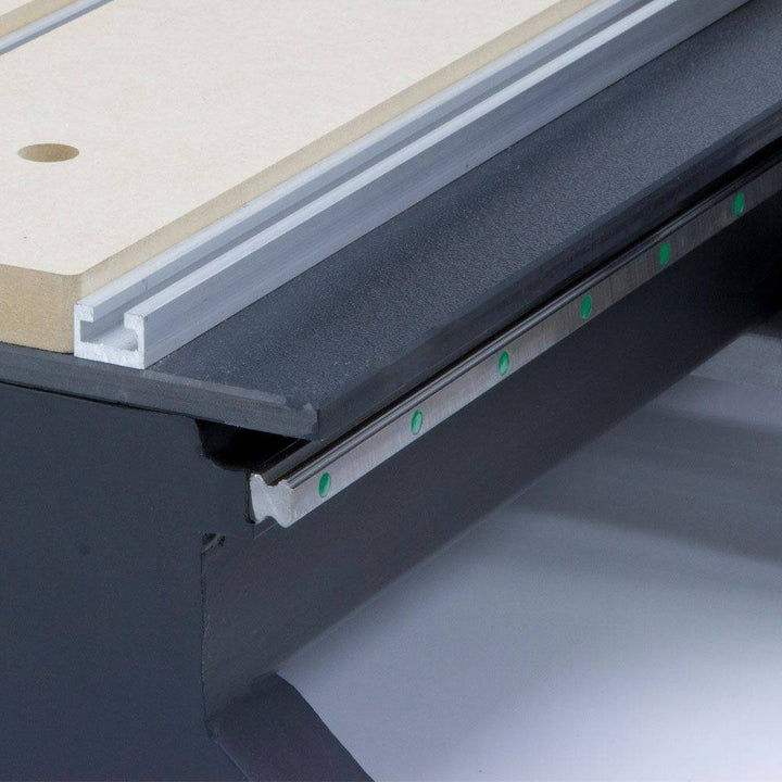 Laguna IQ CNC features an all-steel, one-piece frame