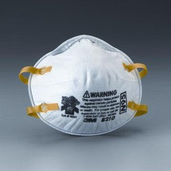 3M™ Particulate Respirator 8210, N95 - 20 Pack - 3M - OakTree Supplies