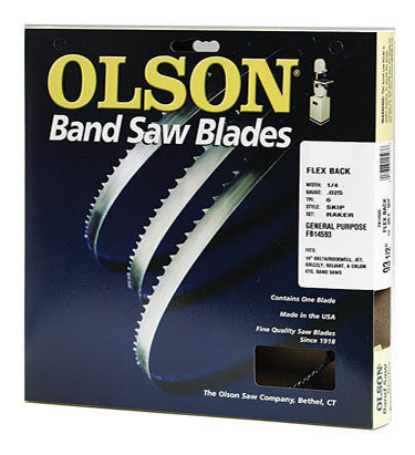 "Olson Band Saw Blades 93 1/2"" (7' 9 1/2"") - Olson - OakTree Supplies"