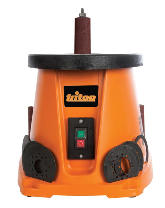 Front View of Triton Oscillating Spindle Sander