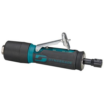 "Dynabrade .4hp Straight-Line Die Grinder - 25,000 RPM, Gearless, Rear Exhaust, 1/4"" & 6 mm Collets, Extended Muffler"