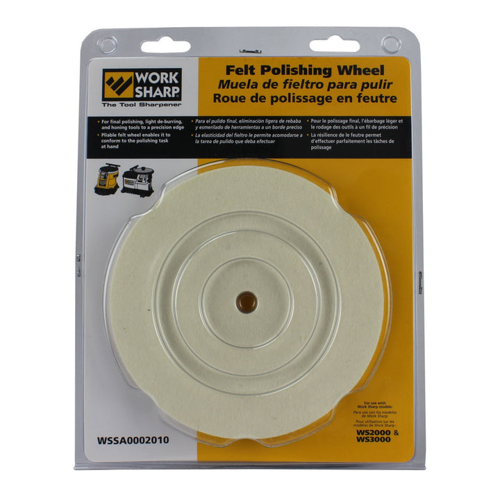 Work Sharp 3000 Felt Polishing Wheel - Darex - OakTree Supplies