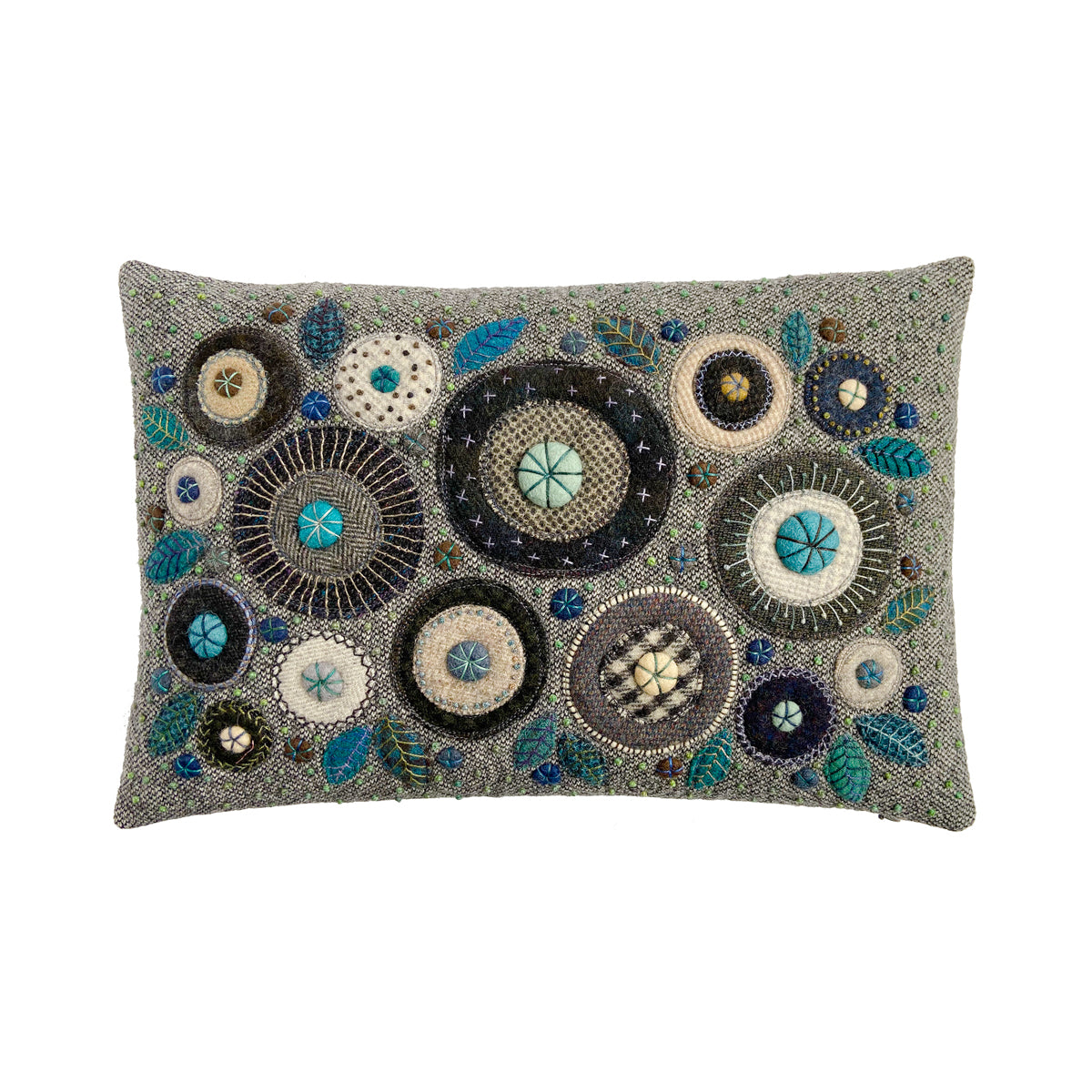 George Street Fancy Stitches Cushion • 12x18 A