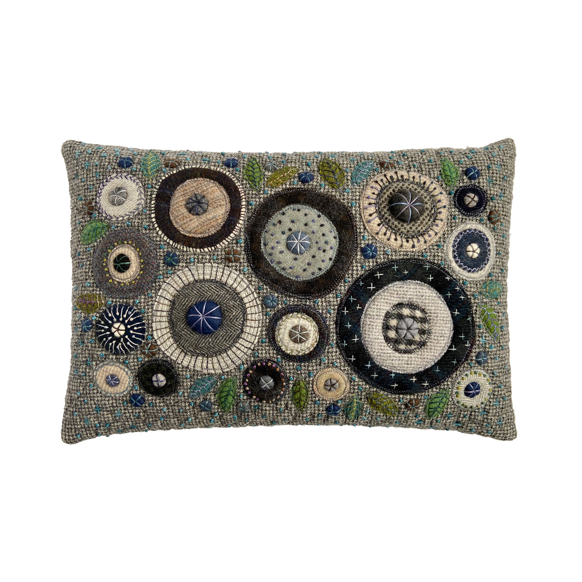 George Street Fancy Stitches Cushion • 12x18 B