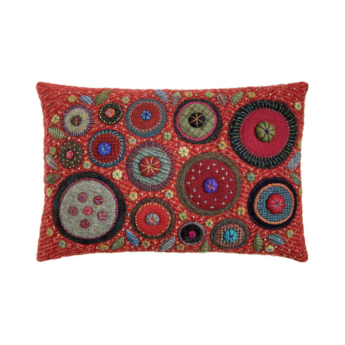 George Street Fancy Stitches Cushion • 12x18 D