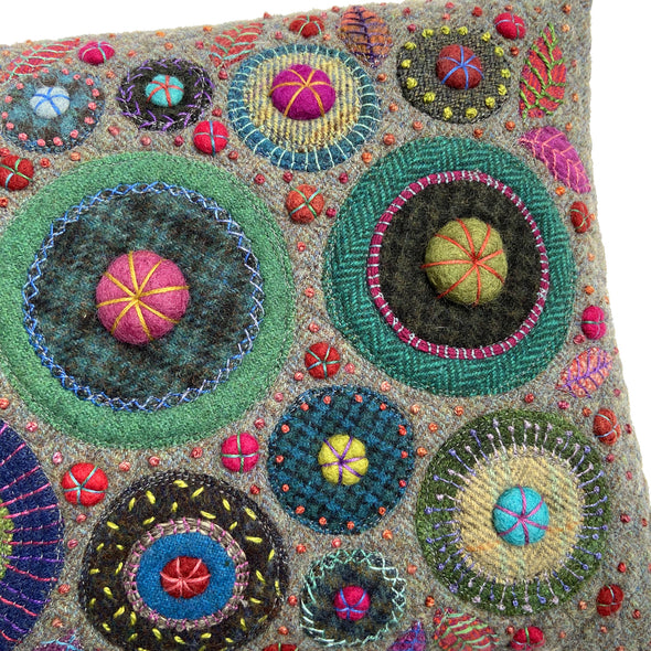 George Street Fancy Stitches Cushion • 12x18 E