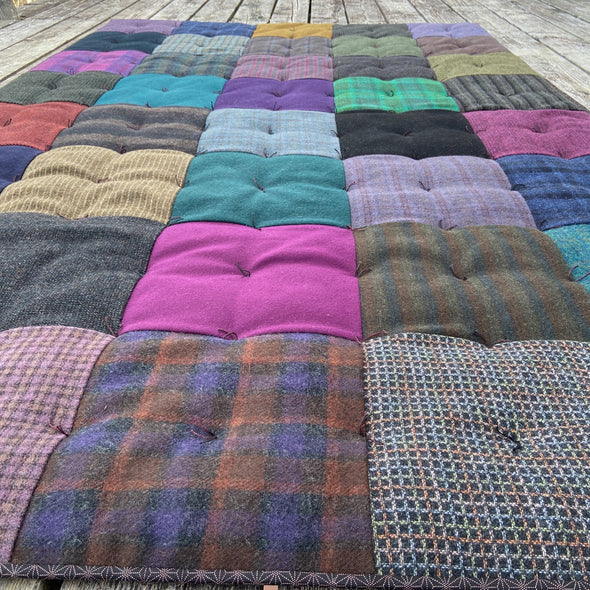 Wool Blanket • Checkerboard A