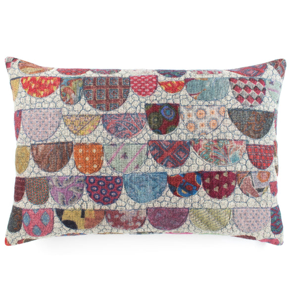 Tie Prints Cushion • 15x22 B