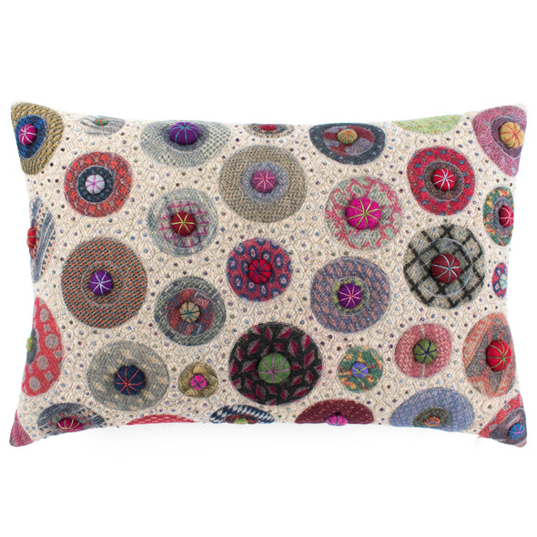 Fancier Tie Prints Cushion • 15x22 A