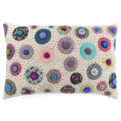 Fancier Tie Prints Cushion • 15x22 C