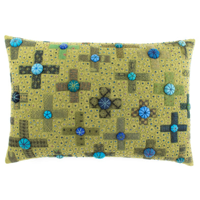 Fancier Tie Prints Cushion • 15x22 D